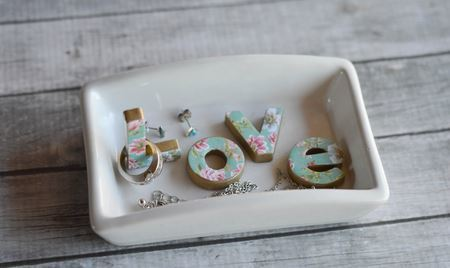 Adorable Jewelry Trinket Dish