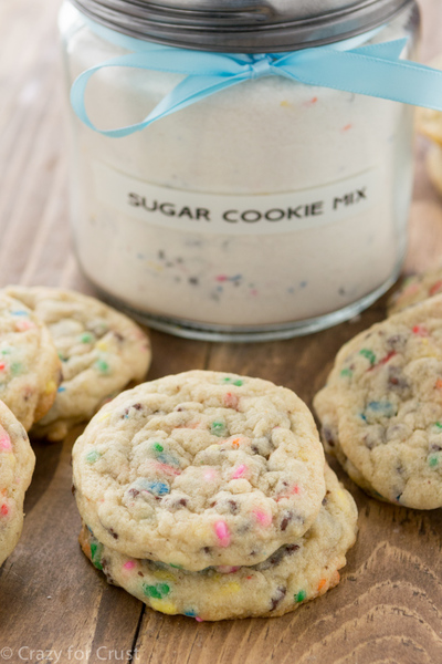 Homemade Sugar Cookie Mix