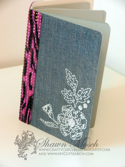 Mini Book with Bling Binding