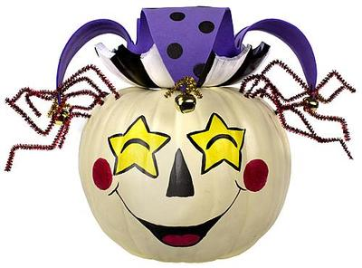 Jester Party Pumpkin