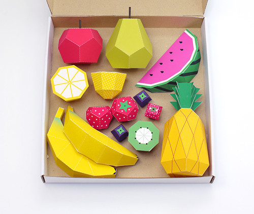 Berry Awesome DIY Paper Fruit