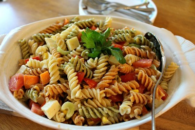 Super Simple Pasta Salad Side Dish