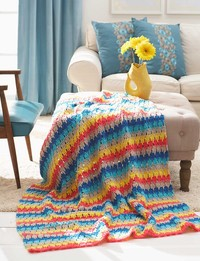 19 Tropical Summer Crochet Afghans