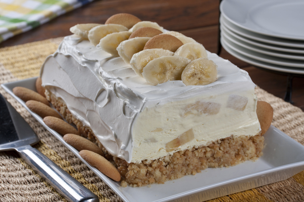 Banana Pudding Freezer Cake