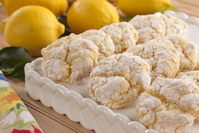 Lemon Coconut Clouds