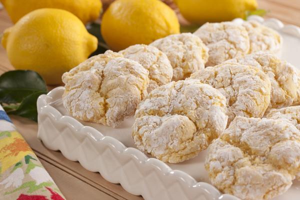 Lemon Half Moon Cake Recipe