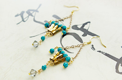 Lucky Lantern DIY Earrings