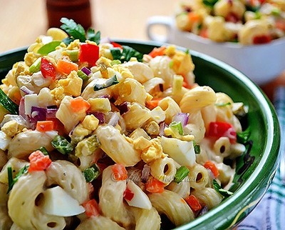 Old Standby Amish Macaroni Salad
