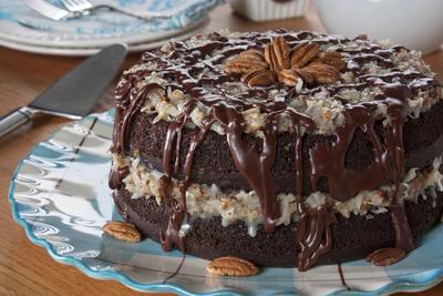 Fruit sweetened chocolate cake recipe
