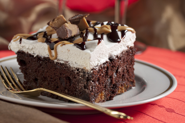 Incredible Recipes Dark Chocolate Cake