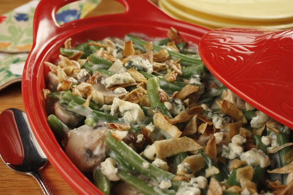 how to cook a lot of green beans