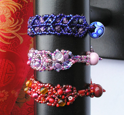 Bubble and Squeak Stashbuster Bracelet
