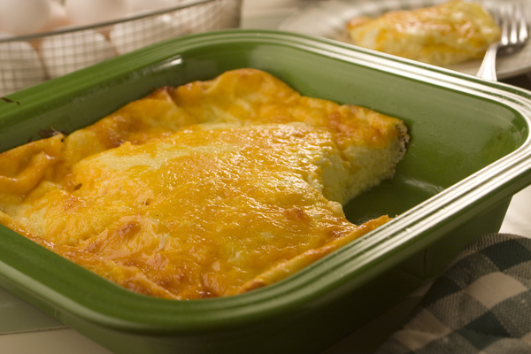Easy Egg and Cheese Souffle