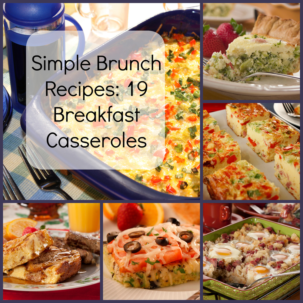 Simple brunch recipes 19 breakfast casseroles for Prime fish brunch