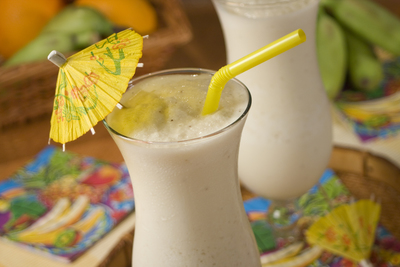 Bananas and Cream Daiquiri