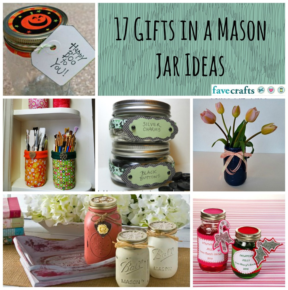 jar craft ideas gifts 17 gifts in a jar ideas favecrafts 4768