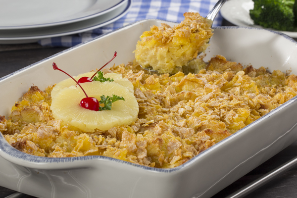 Country Kitchen Pineapple Casserole