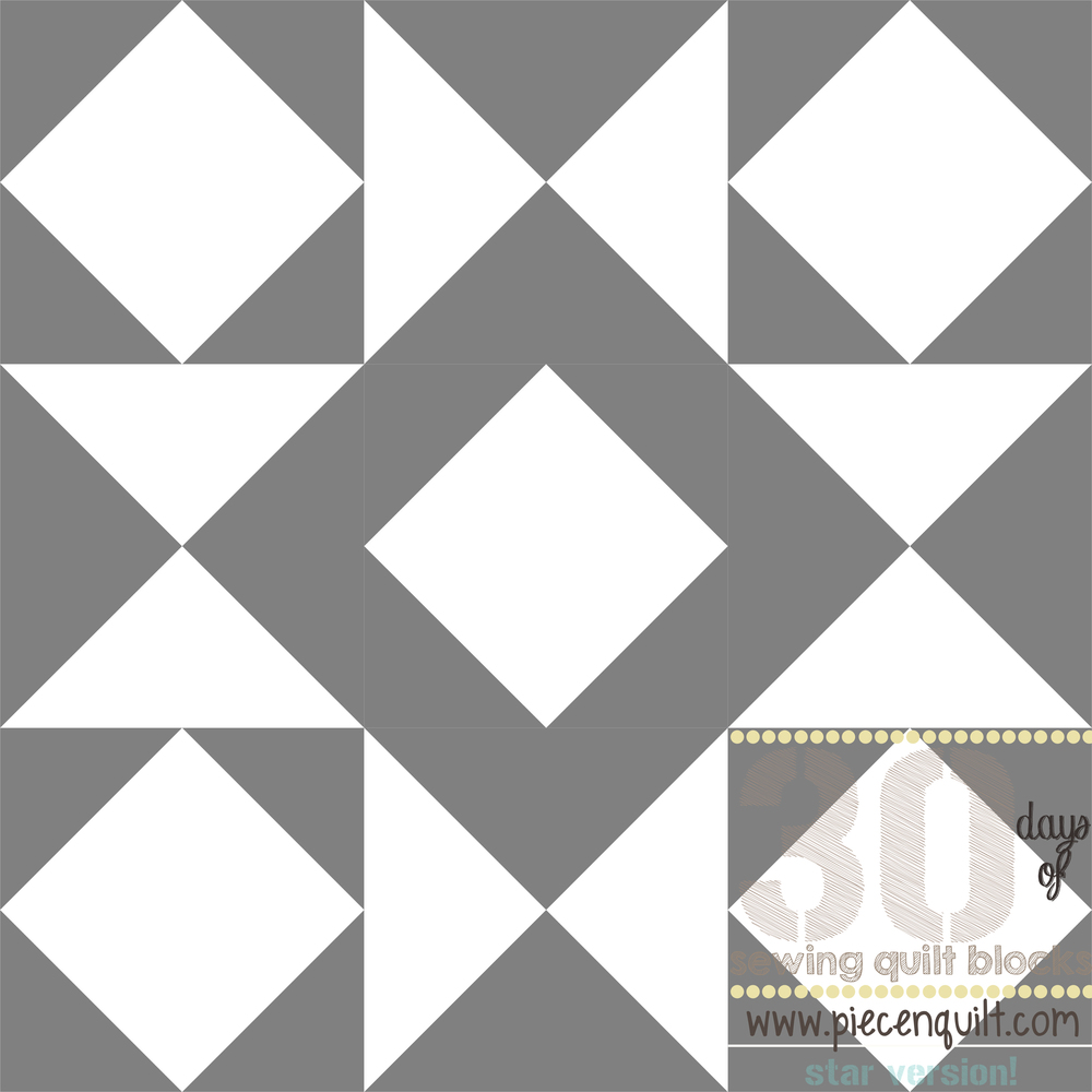 Combination Star Quilt Block Pattern Favequilts Com
