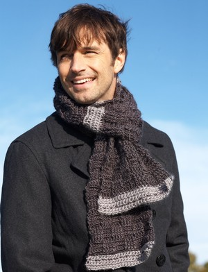 Manly Weave Scarf
