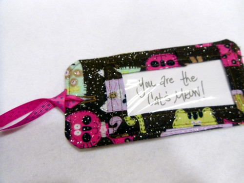 Fabric Travel Tag