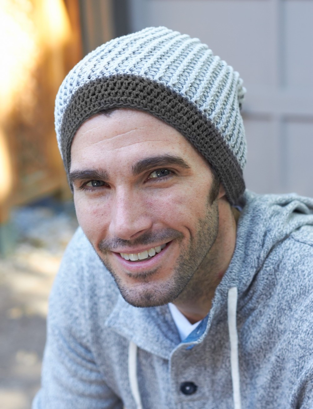 Mens Slouchy Beanie Knitting Pattern : Stay Stylish Crochet Beanie AllFreeCrochet.com