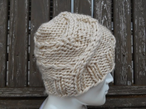 Winding Roads Cable Hat