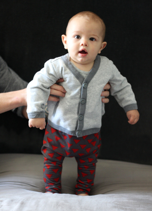 How to Make Baby Leggings