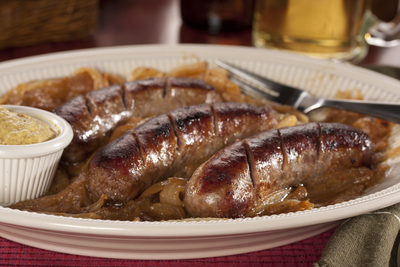Beer-Basted Sausage