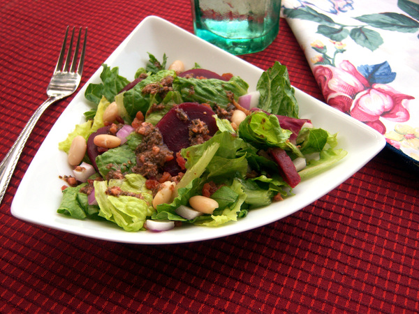 Beet and Bean Salad