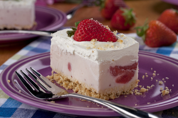 Berry Cheesecake Ice Cream Squares