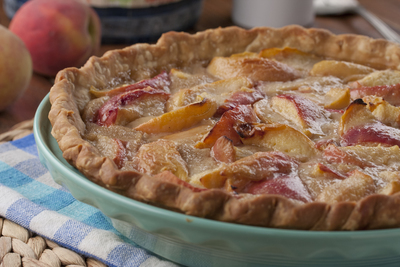 Peachy Keen Cream Pie