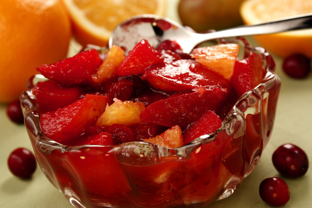 fruit compote frozen fruit salad