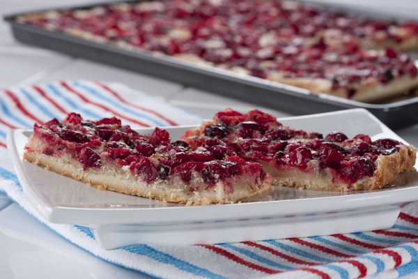 Cranberry Dream Bars