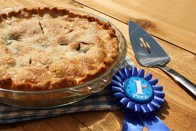 Blue Ribbon Blueberry Pie
