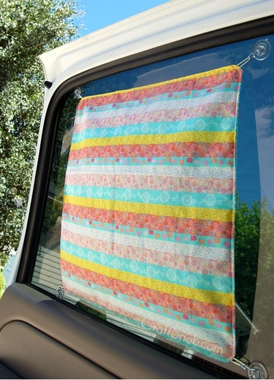 DIY Car Sun Shade