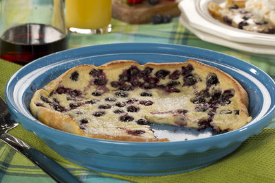 Blueberry Dutch Pancake