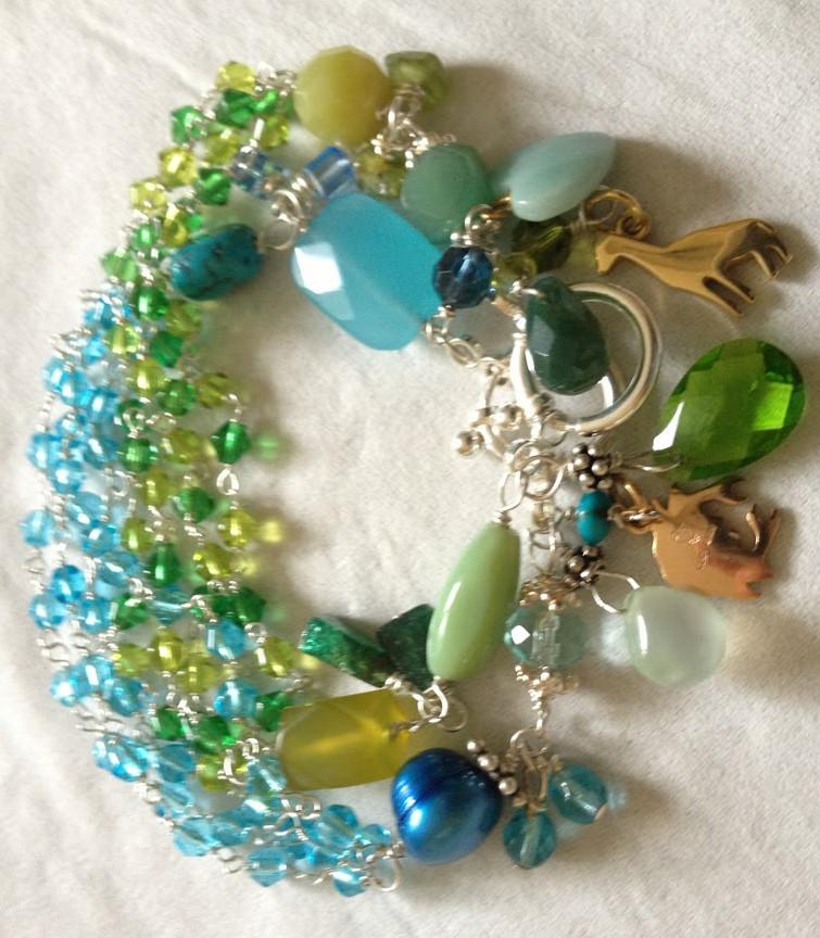 Diy Beads: 50 Shades Of Beads Bracelet