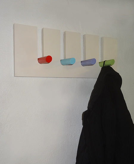 Colorful Kids Coat Rack
