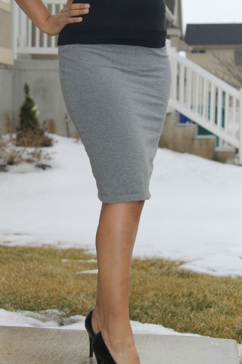 Knit DIY Pencil Skirt