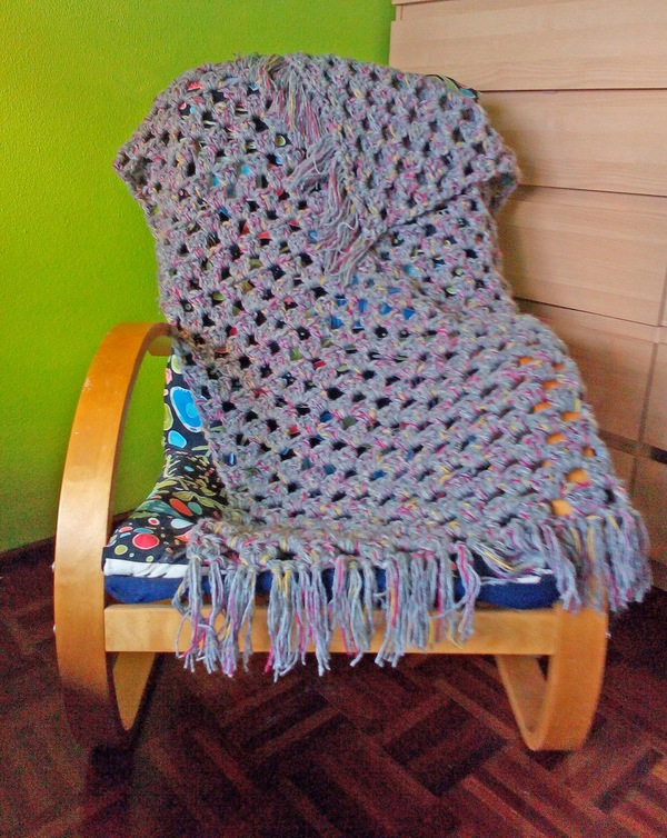 Worsted Weight Granny Afghan