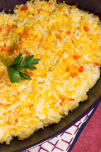 Copycat Cracker Barrel Hash Browns Casserole