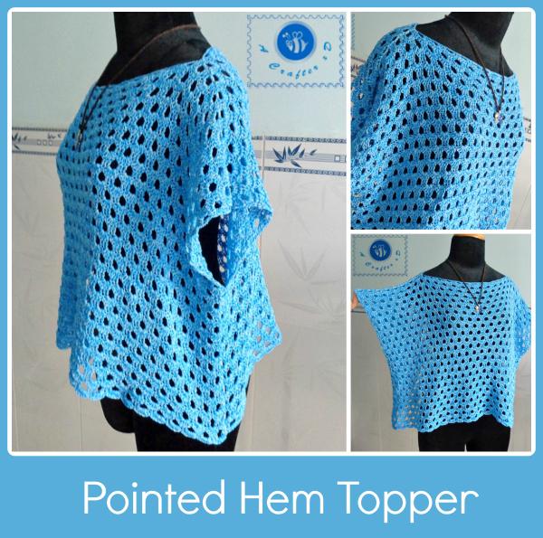 Sky Blue Crochet Top Pattern Allfreecrochet