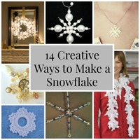 14 Creative Ways to Make a Snowflake