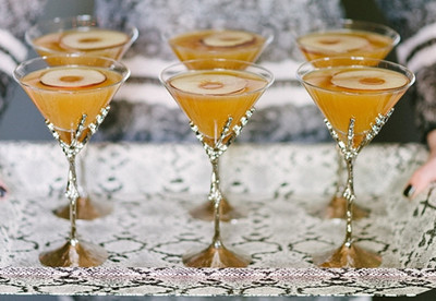 Spiced Apple Cider Cocktail Drink