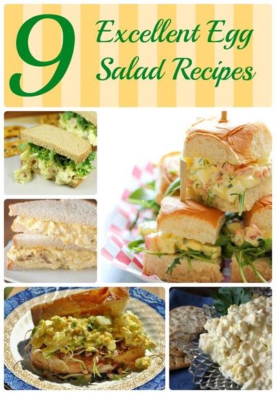 9 Excellent Egg Salad Recipes