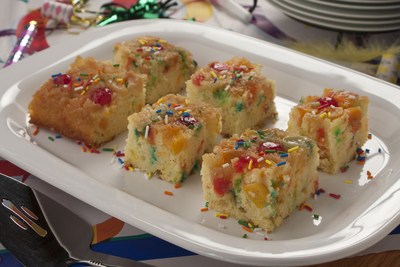 Confetti Upside-Down Cake