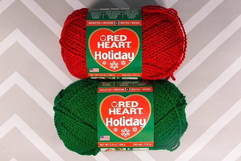 Red Heart Holiday Yarn Allfreechristmascrafts Com