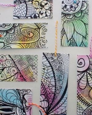 Watercolor Paper Crafts