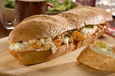 Bubblin Buffalo Chicken Sandwich