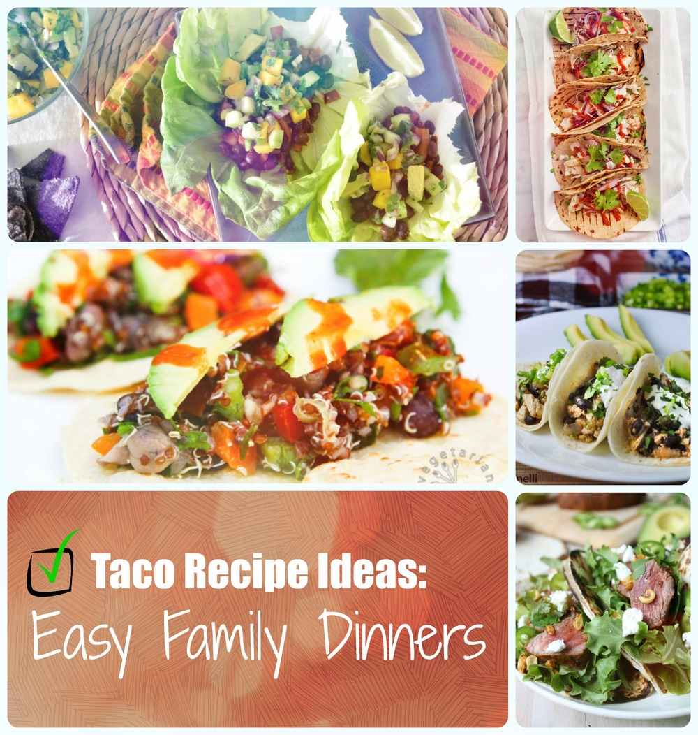 20 Easy Camping Recipes For Your Family: The Best Taco Recipes: 20 Easy Family Dinners